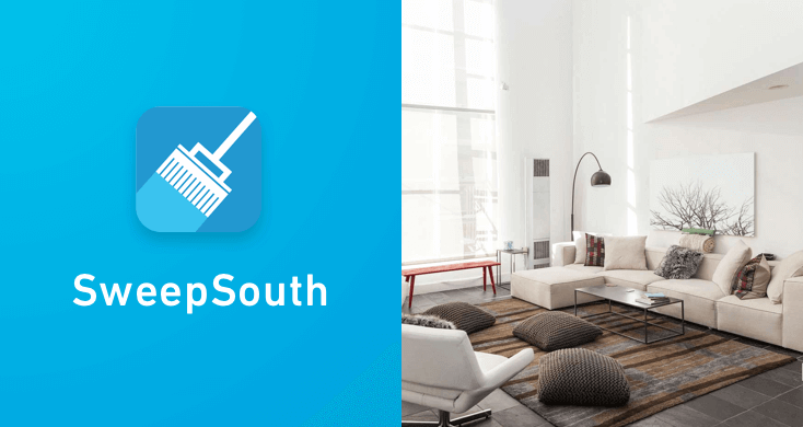 SweepSouth - one of the top apps for entrepreneurs.