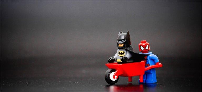 A lego image on building partnership.