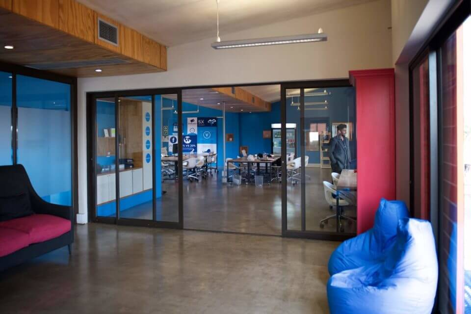 The Yoco offices in Parkhurst, Johannesburg.