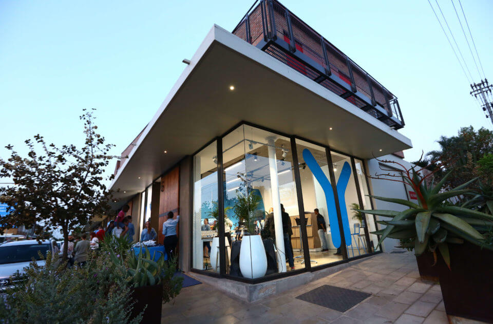 The launch of the Yoco Point of Sale at the Parkhurst store