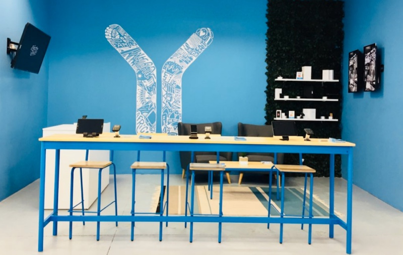 The Yoco concept store in Maponya Mall in Soweto.