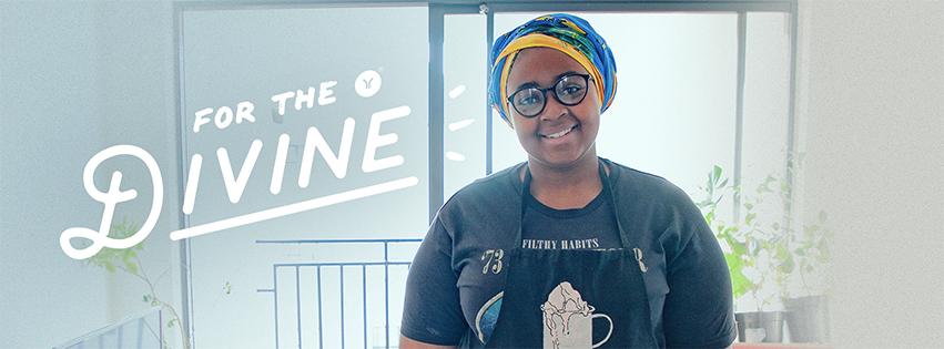Sine Ndlela of Yo Coco in Cape Town.