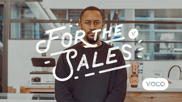 The cover image for the Yoco For The Sales campaign.