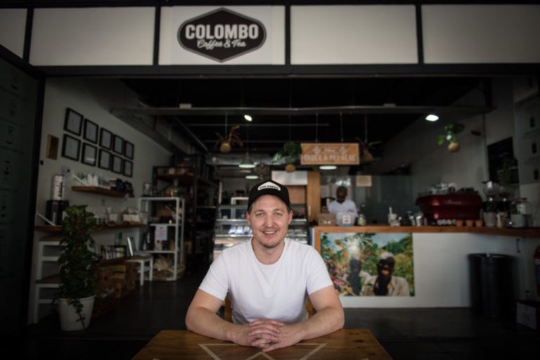Geoff Noble of Colombo Coffee in Durban.