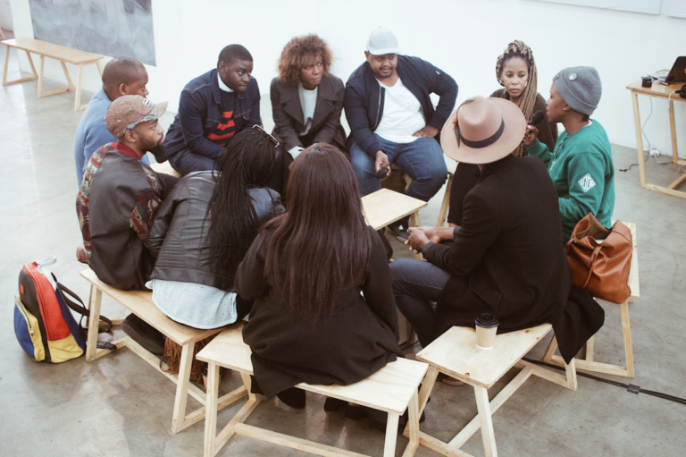 An intimate Yoco Meets gathering.