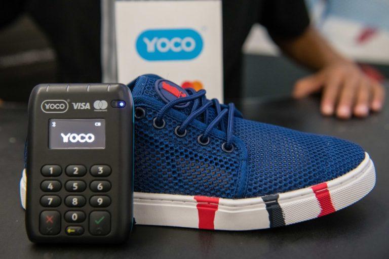 Bathu Shoes and a Yoco Pro card machine.