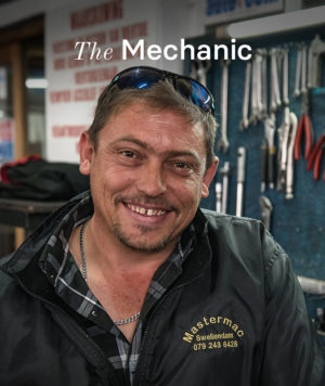 Wynand, the local mechanic in Swellendam.