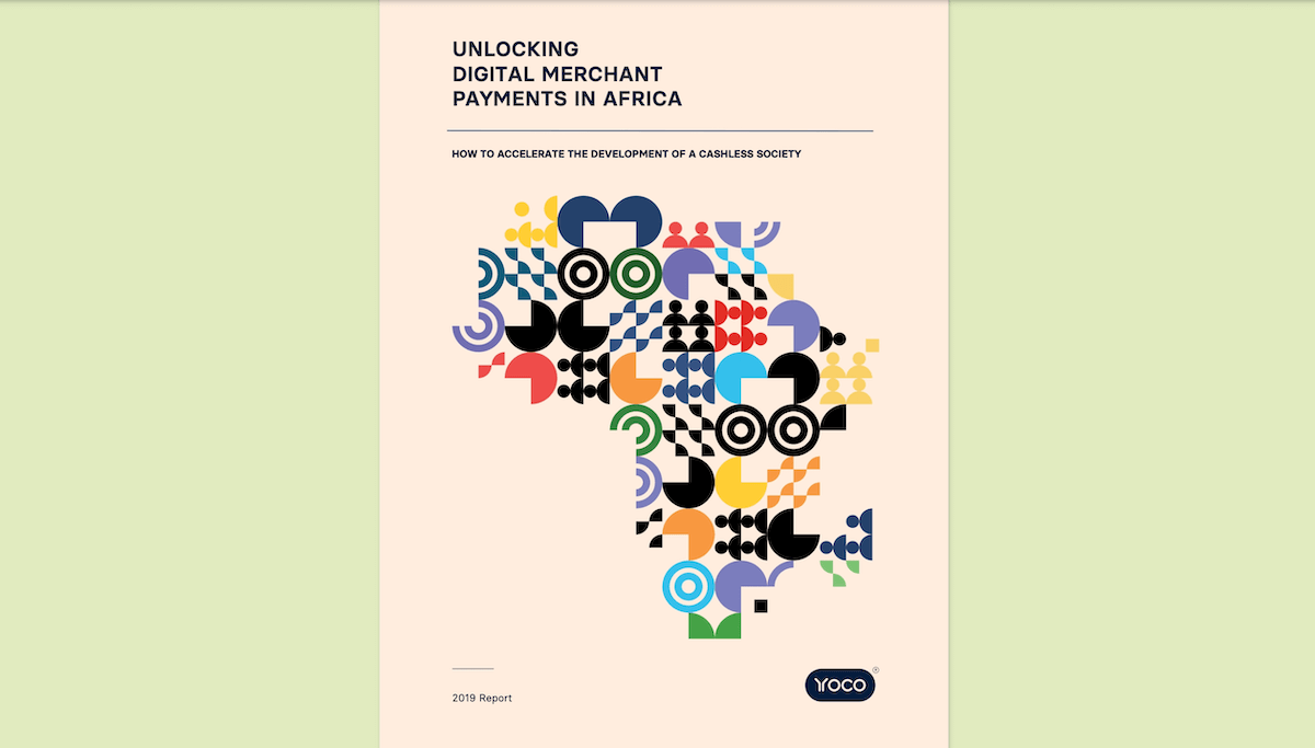 The cover of Unlocking Digital Payments in Africa by Yoco.