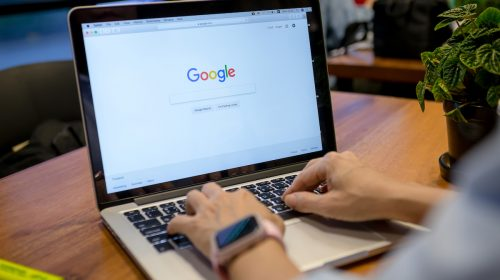 A screenshot of a person doing a Google Search.